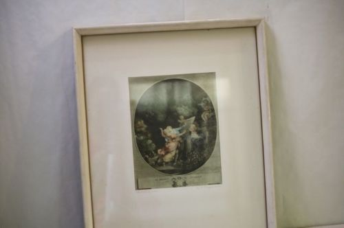 French Print The Oath of Love by Fragonard Framed Le Serment D'Amour Cont Garden