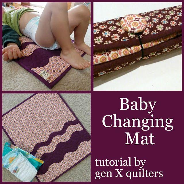 baby nappy diaper change mat tutorial