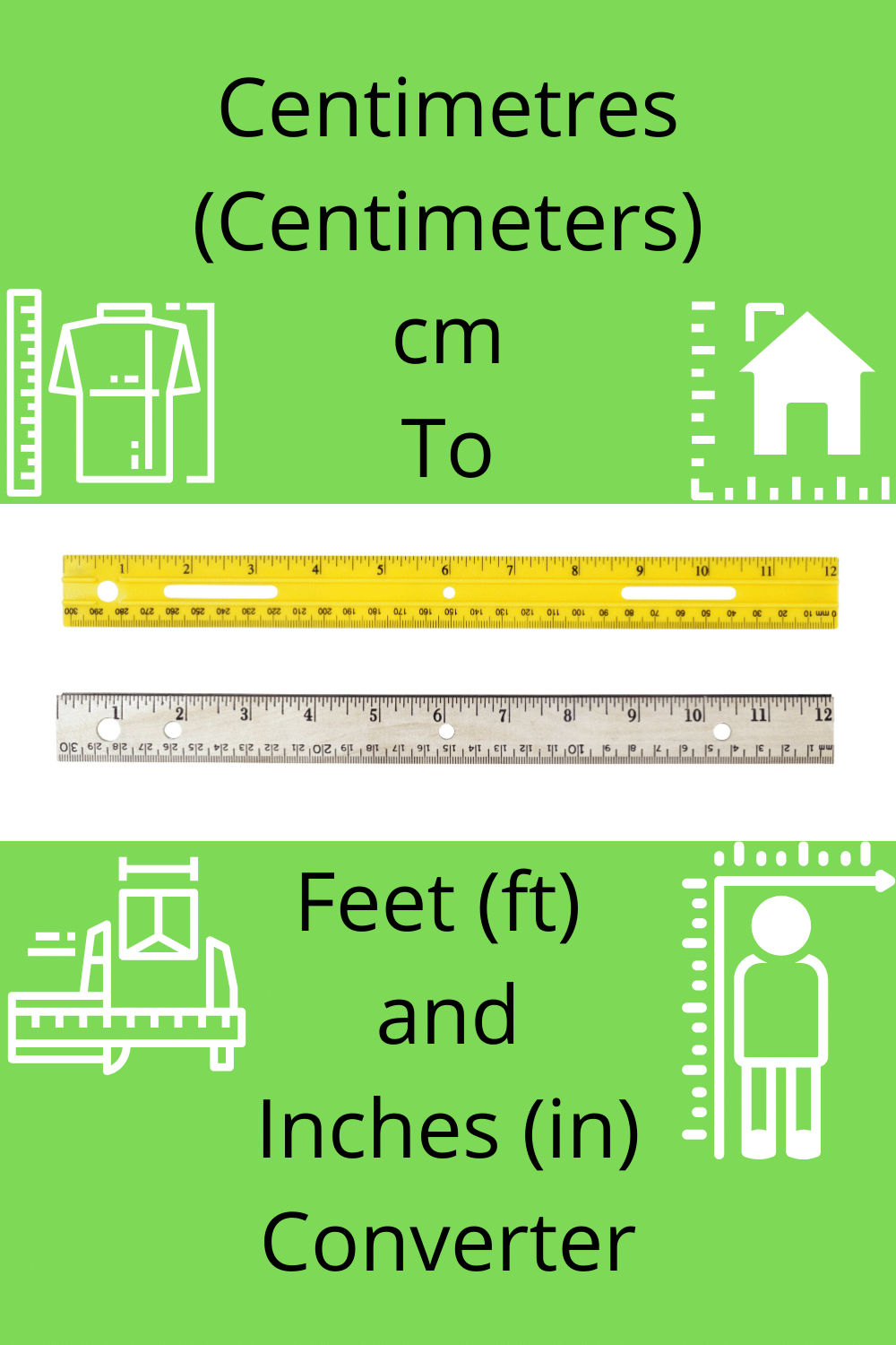 Centimetres Cm To Feet Ft And Inches In Converter Cm To Inches Conversion Inch Feet Converter