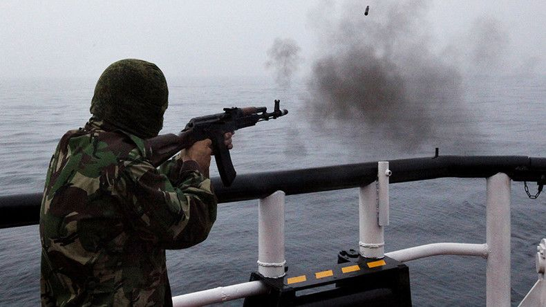 Russian border patrol opens fire as North Korean fishing vessel crew resists search