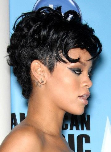 50 Most Captivating African American Short Hairstyles Rihanna Short Hair Rihanna Hairstyles Curly Hair Styles