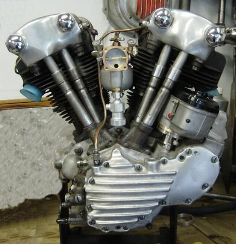 Moteur Knuckle Head Harley Davidson