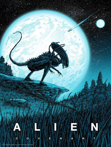 Pin De Guilherme En Alien Mejores Carteles De Peliculas Caricaturas De Terror Alien Vs Depredador