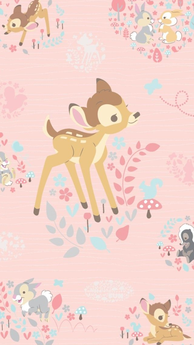 Bambi IPhone Wallpaper