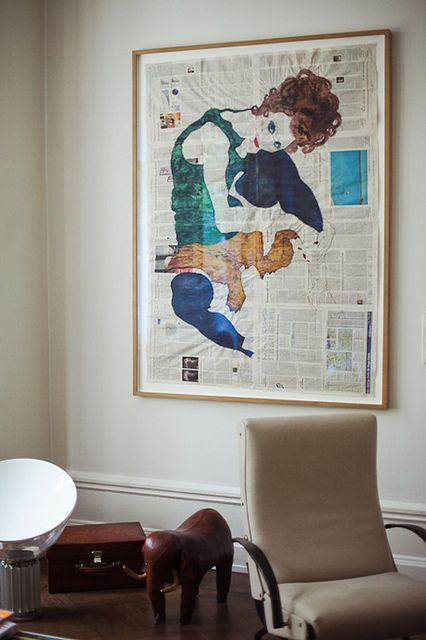 Berlin Apartment of Karena Schuessler by decor8, via Flickr
