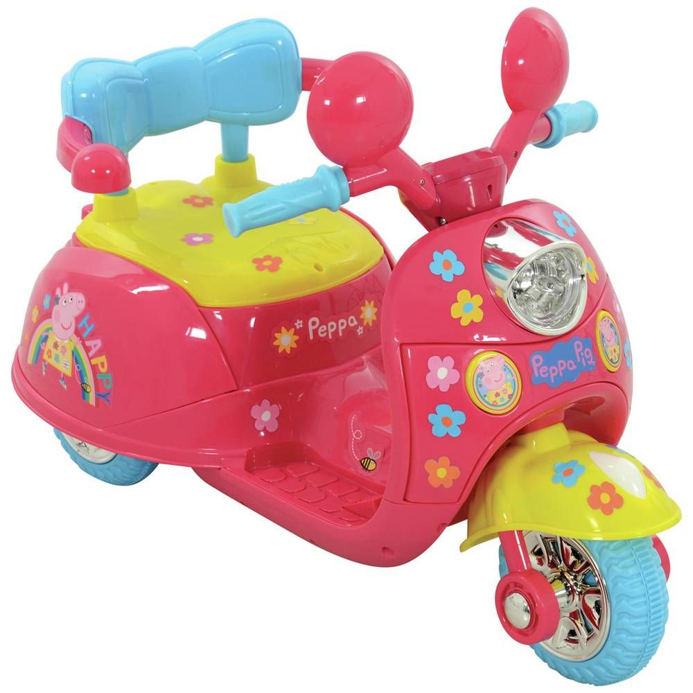 Buy peppa pig 6v powered ride on electric rideons