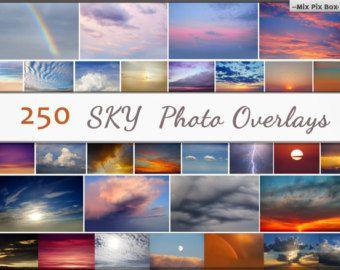 Superpositions De Photo Ciel Nuages Photoshop Coucher De Soleil La Texture Dramatique Overlay Nuages Effet Reali Photo Overlays Sky Overlays Sky Photos