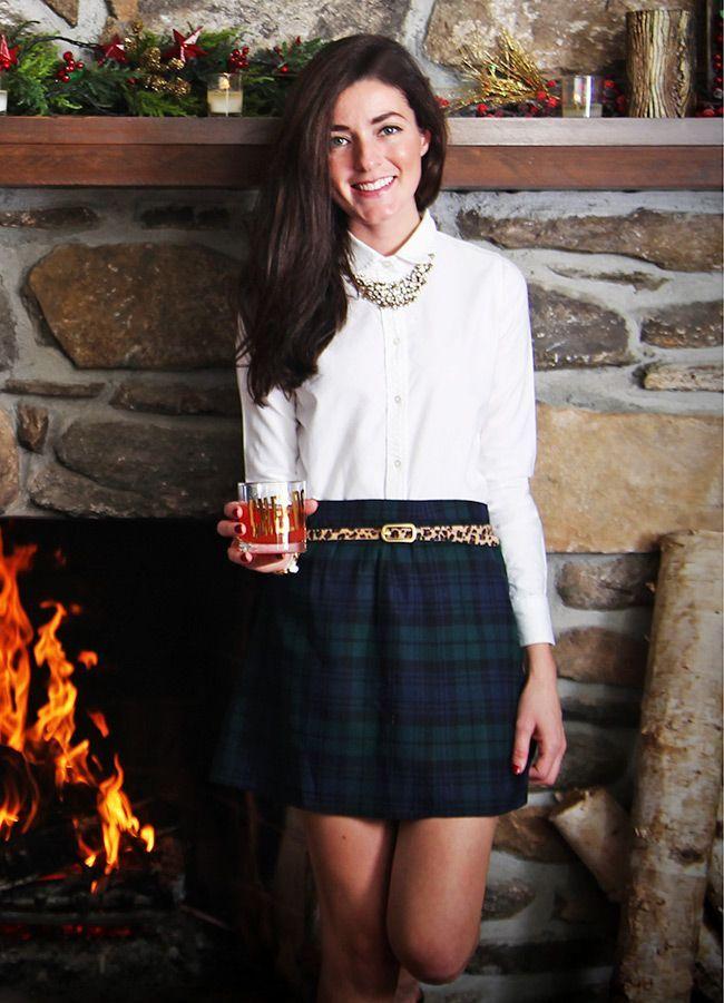 Classy Girls Wear Pearls: Scallop Around the Christmas Tree - Scallop Around The Christmas Tree Preppy! Pinterest Girls Wear