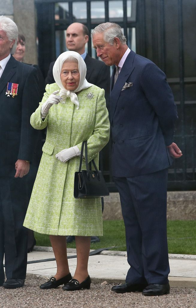 The Queen Prince Charles Attend A