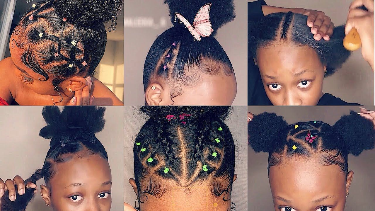 Cute 4c Hairstyles For Short Hair Youtube In 2020