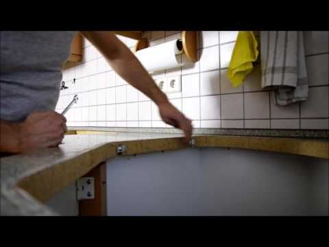 Arbeitsplatte zuschneiden HORNBACH Meisterschmiede - YouTube