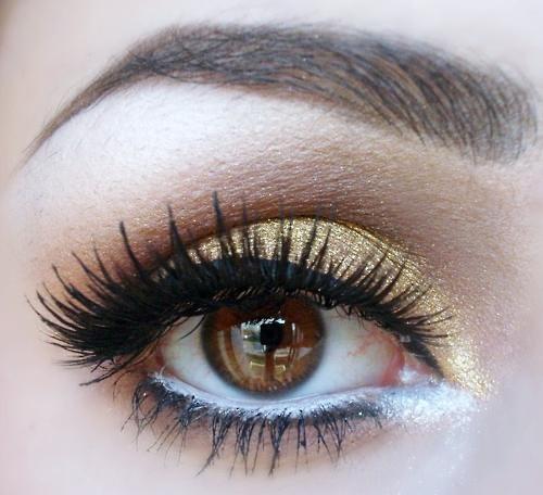 Lilac Vegan Bunny #MAKEUP #browneyes #gold
