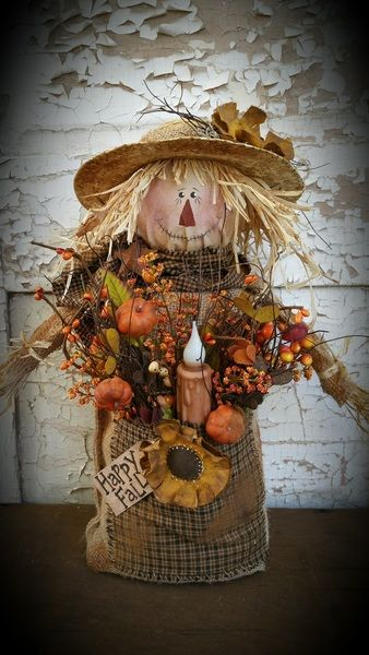 K2332 Burlap Scarecrow Sewing Pattern Very Easy | Crafts | Pinterest ...
