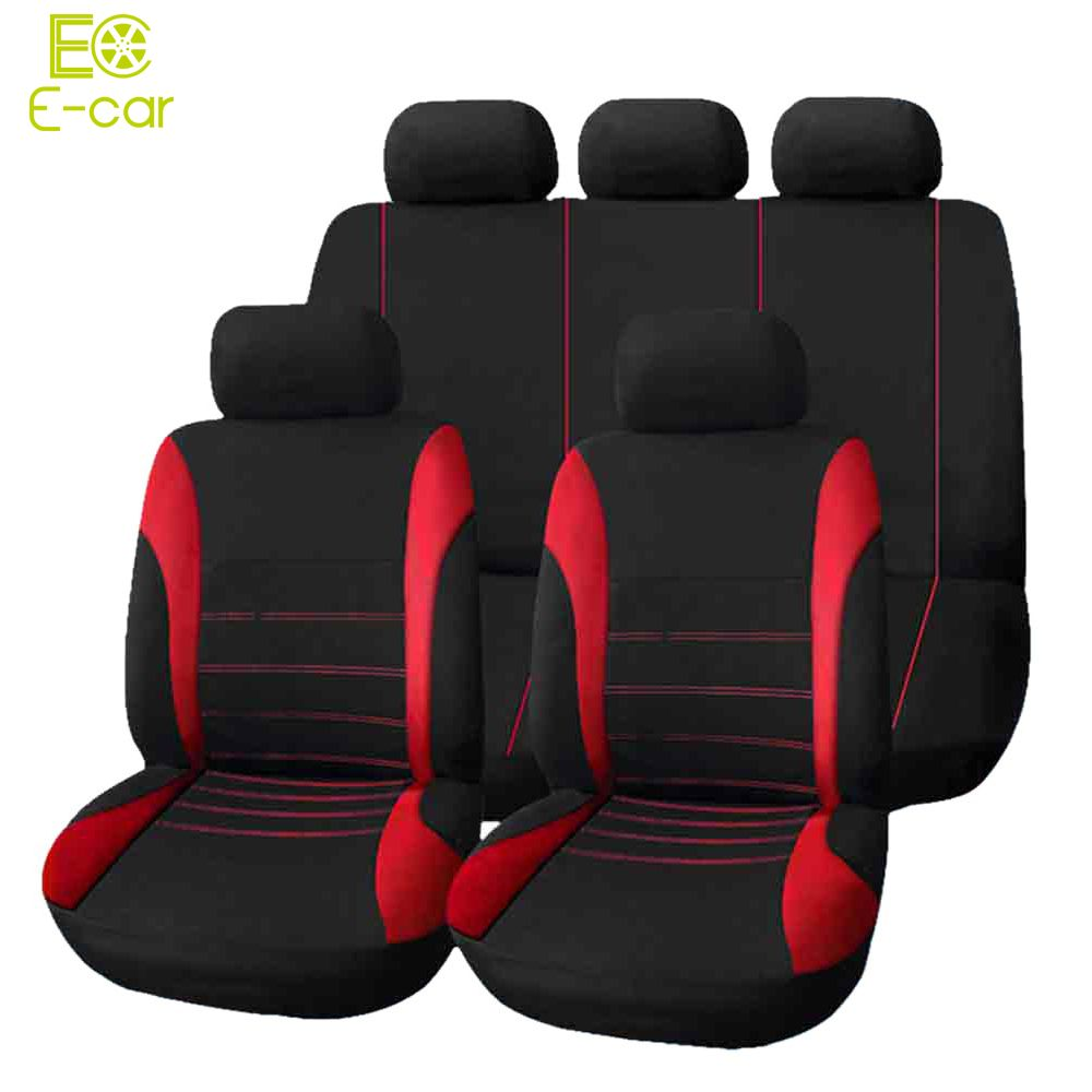 Car seat cover 9 set full seat covers for crossovers