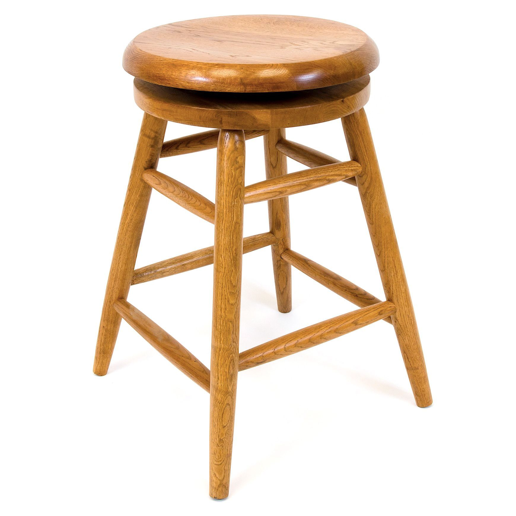 These Wooden 24 Inch Counter Stools Turn Your Kitchen Counter Into Extra  Dining Space Or A Family Gathering Place. Each Sturdy Stool Swivels 360  Degrees, ...