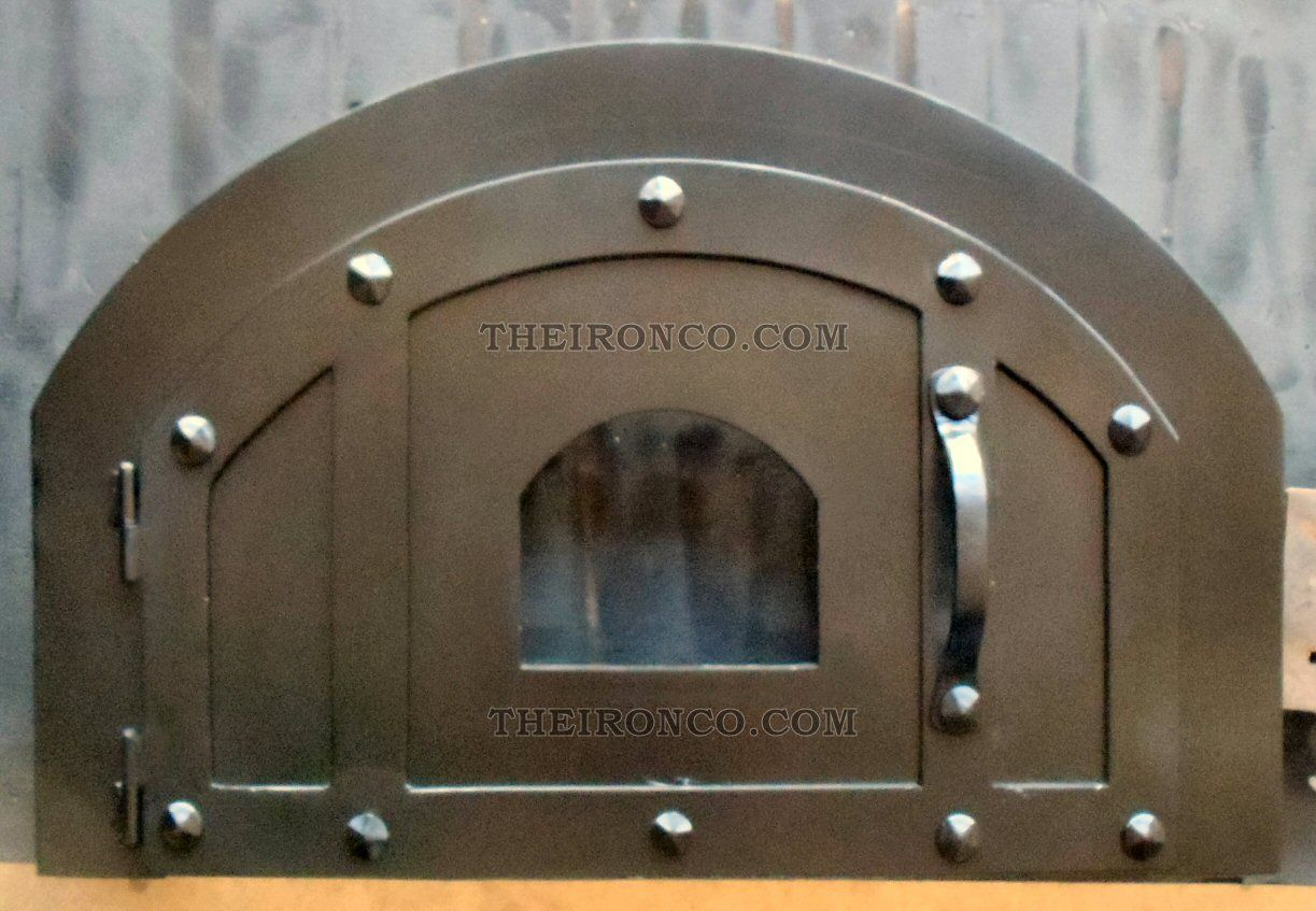 pizza oven door md 207 by old west iron www oldwestiron com