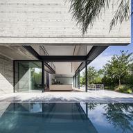 Rlw House Jacobsen Arquitetura Minimalist Window Architect House Architecture Design