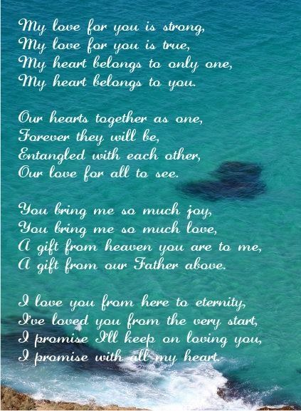 Poems For Husband Love Marriage