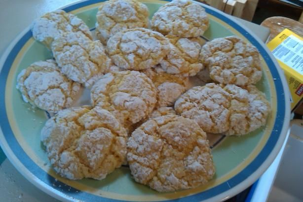 3 Ingredient Cool Whip Cake Mix Cookies.  Soft, chewy and a big semi-homemade headstart.  Thanks @KansasShortcake