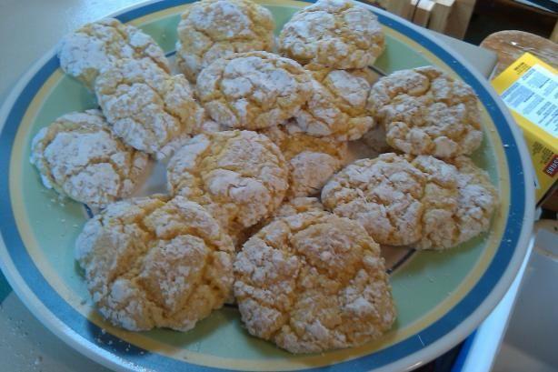 3 Ingredient Cool Whip Cake Mix Cookies. Photo by kansashortcake
