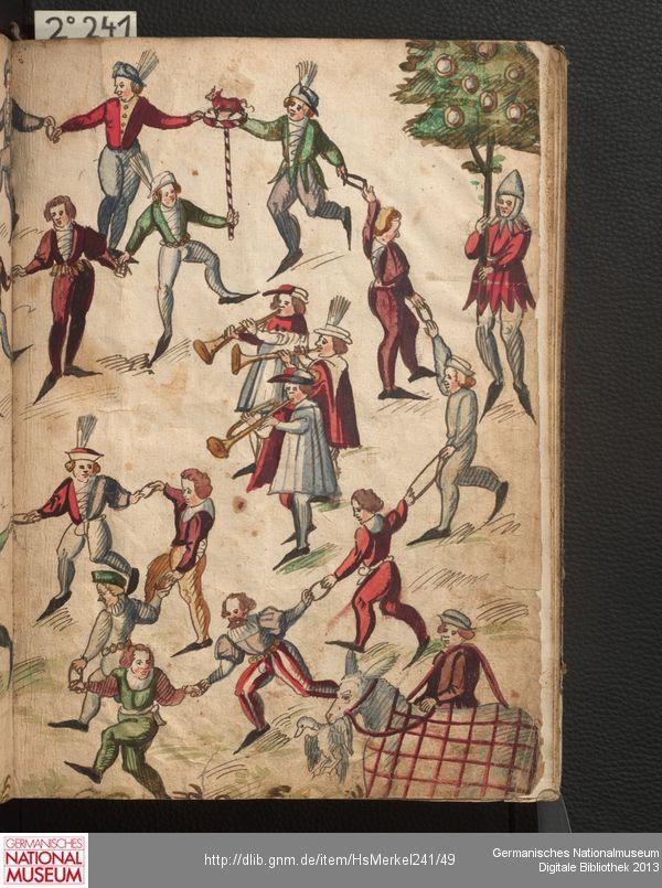 Gnm Digital Library Malerei Mittelalter Bilder