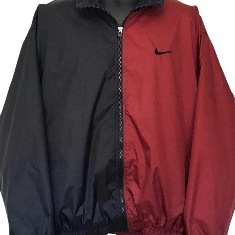 Nike | Vintage 90's Color Block Big Logo Windbreaker