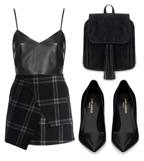 outfit, with skirt #spookyoutfits