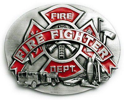 Brand new Fire Department Fireman Firefighter Truck Medical Police Belt Buckle