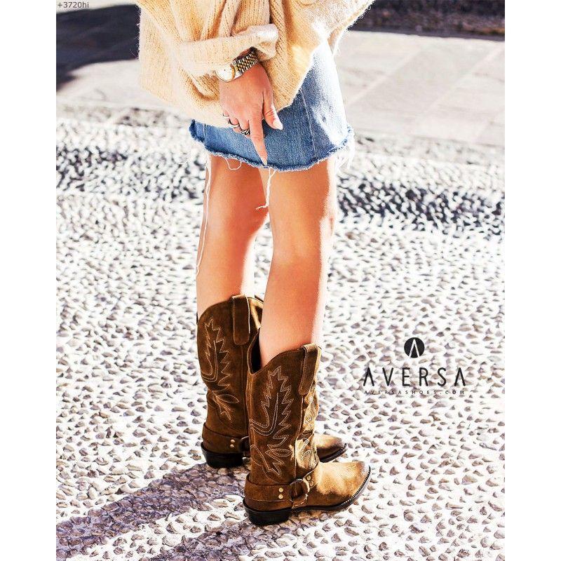 goditi il miglior prezzo nuovo economico vendita calda online Kammi Stivale Texano Olga tortora - Aversa Shoes S.r.l ...