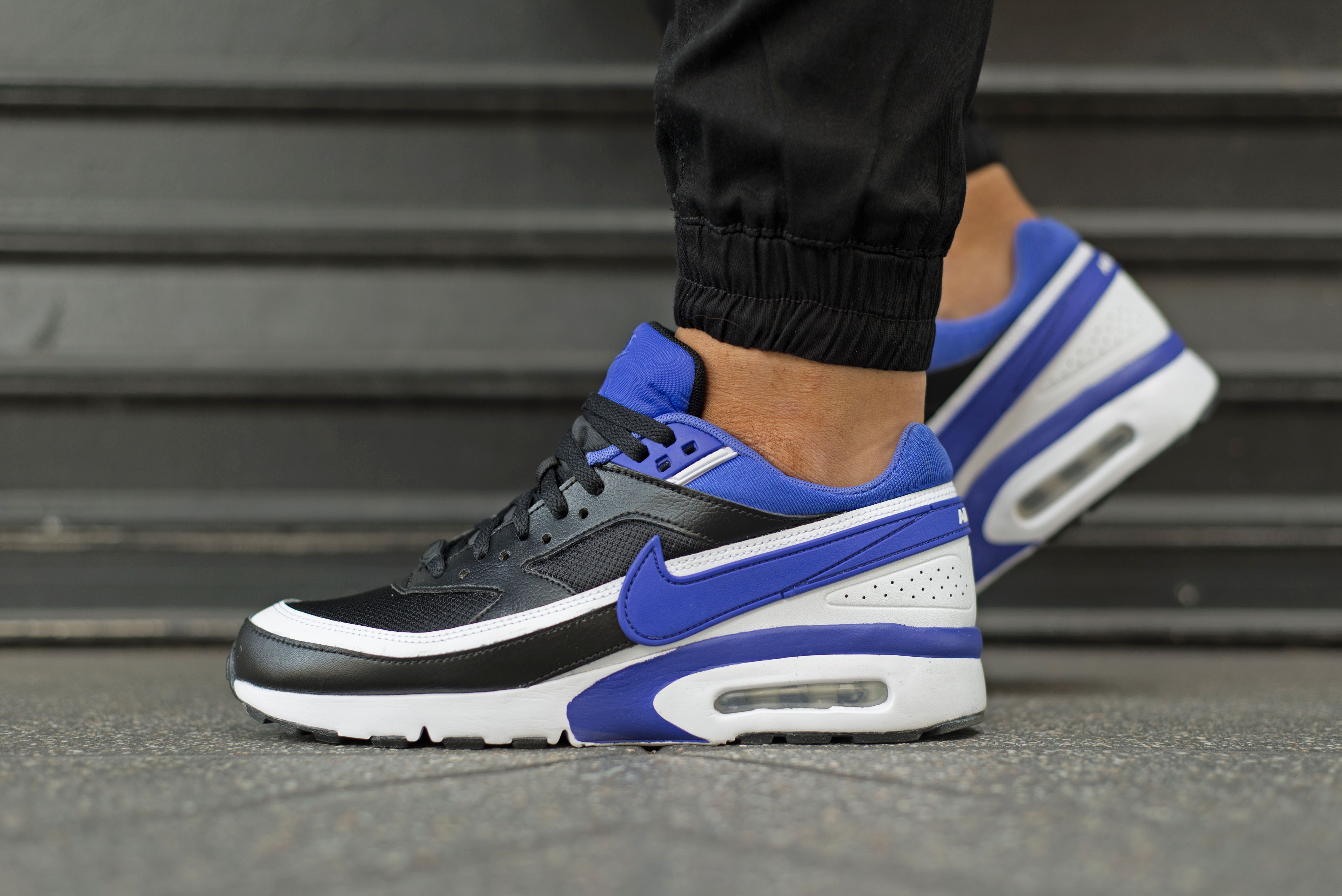 aab9094b15c NIKE AIR MAX BW OG BLACK PERSIAN VIOLET PURPLE WHITE 819522 051 ...