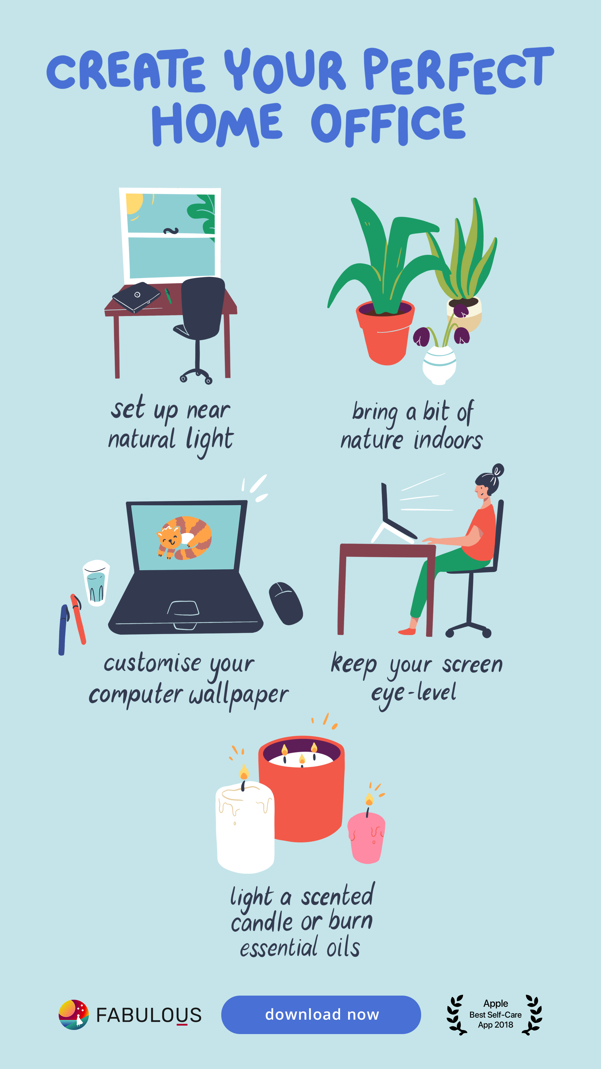 Create Your Ideal Home Office Environment Self Care Self Care Activities Self Improvement Tips