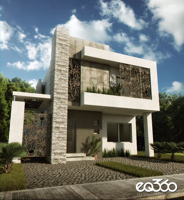 Pin de paola gonzalez en dise os casas pinterest for Casas residenciales minimalistas