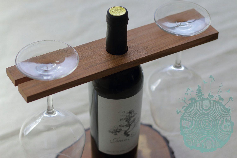 rustic wood glasses rack for wine bottle reclaimed wood. Black Bedroom Furniture Sets. Home Design Ideas