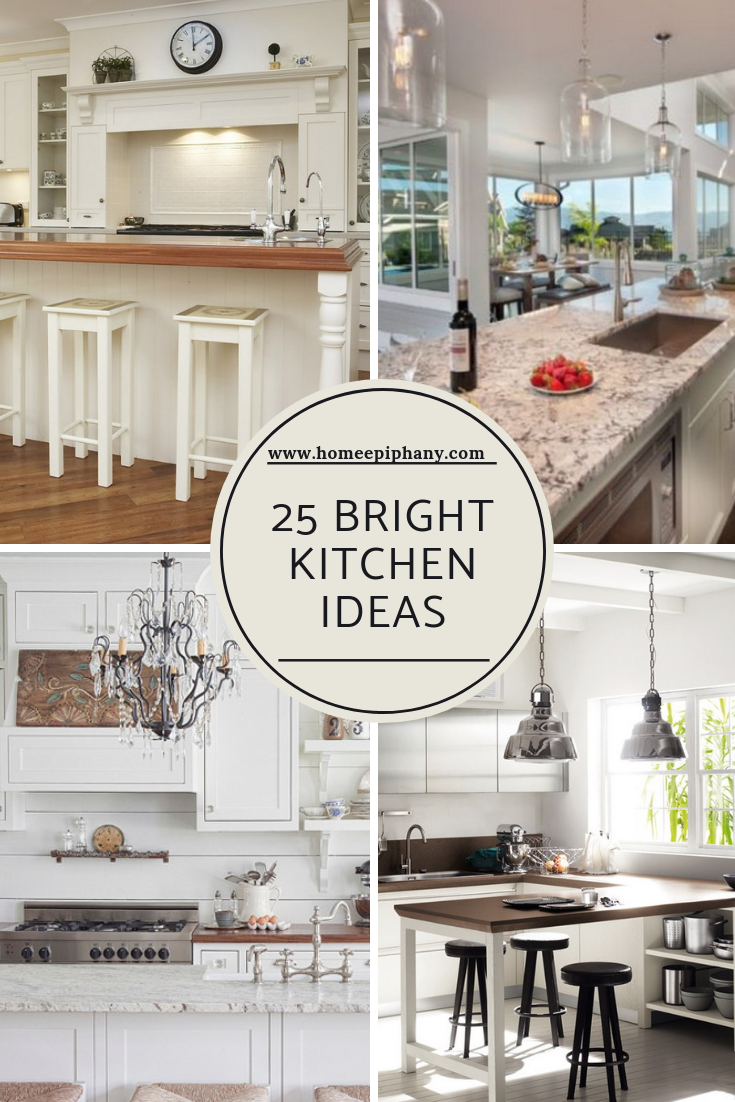 25 Bright Kitchen Designs Kitchen Design Beautiful Kitchens