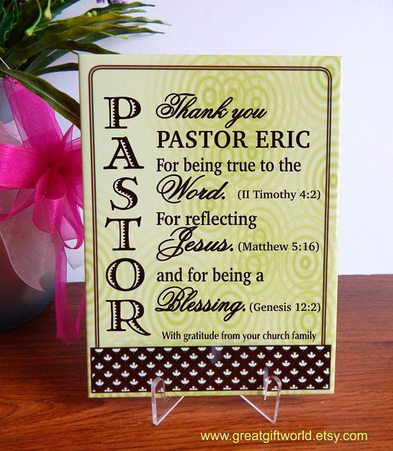 Gift for priest gift for pastor appreciation day by greatgiftworld items similar to pastor appreciation gift luke pastor gift wedding gift for pastor pastor sign bible verse gift for pastor easter gift on etsy negle Gallery