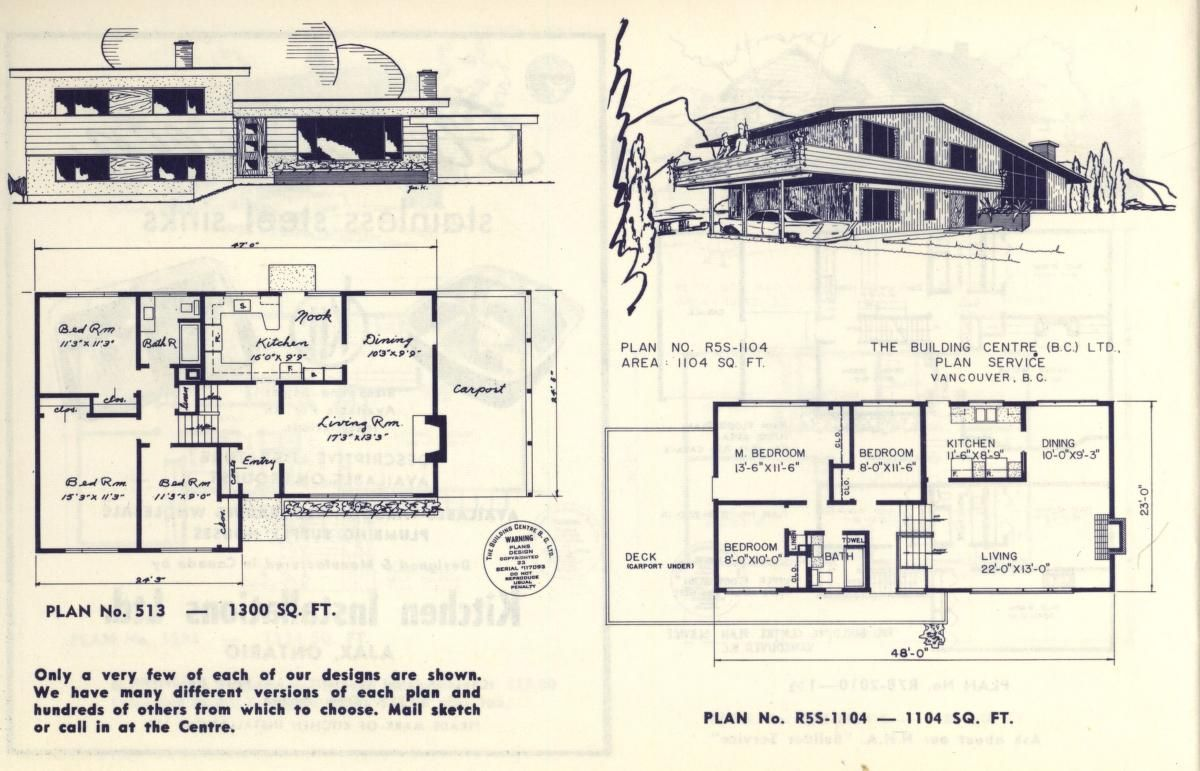 select home designs series 10 1959 - 1959 Home Design