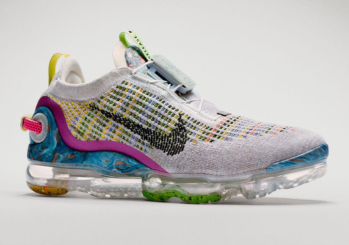 Nike vapormax blue orange wheat in 2020 Pinterest