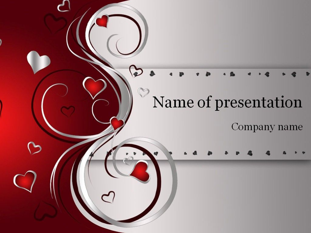 Valentines Day PowerPoint Template | Template