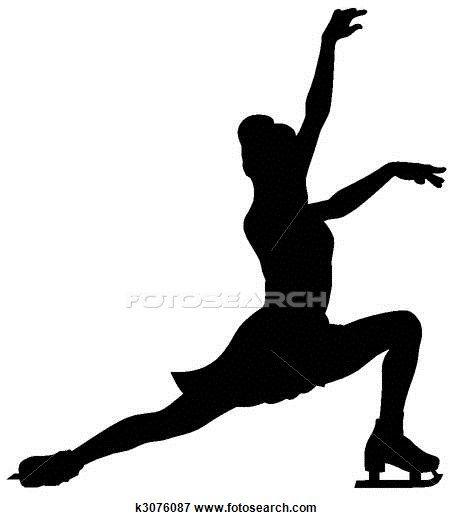 figure skater stock illustrations 1070 figure skater clip art rh pinterest ca