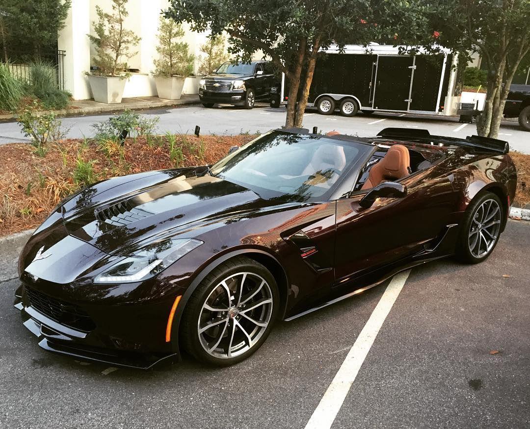 2017 Corvette Grand Sport in Black Rose Metallic Coches