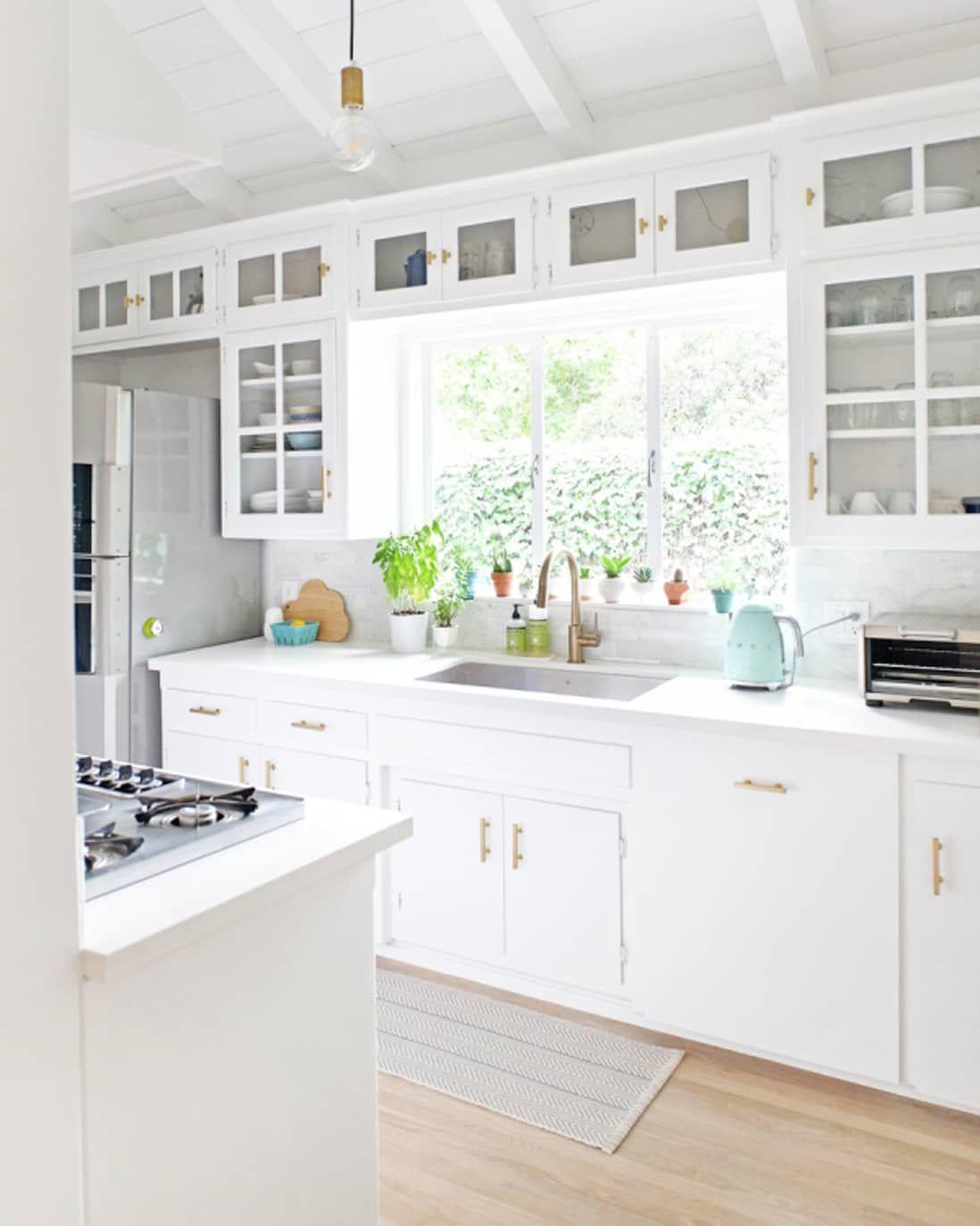 Glass Front Kitchen Cabinet Doors Aren't Just Beautiful ...