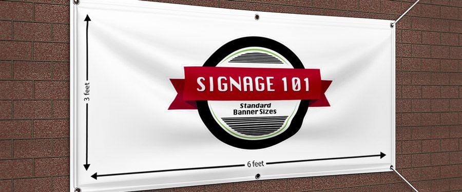 Standard Vinyl Banner Sizes Signage 101 Https Www Signs Com Blog Standard Vinyl Banner Sizes Signage 101 Banner Sizes Vinyl Banners Vinyl Banner Printing