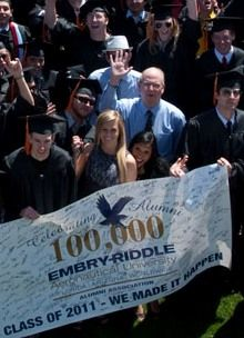 Enjoy the rewards of being an ERAU graduate. Check out our Alumni page!