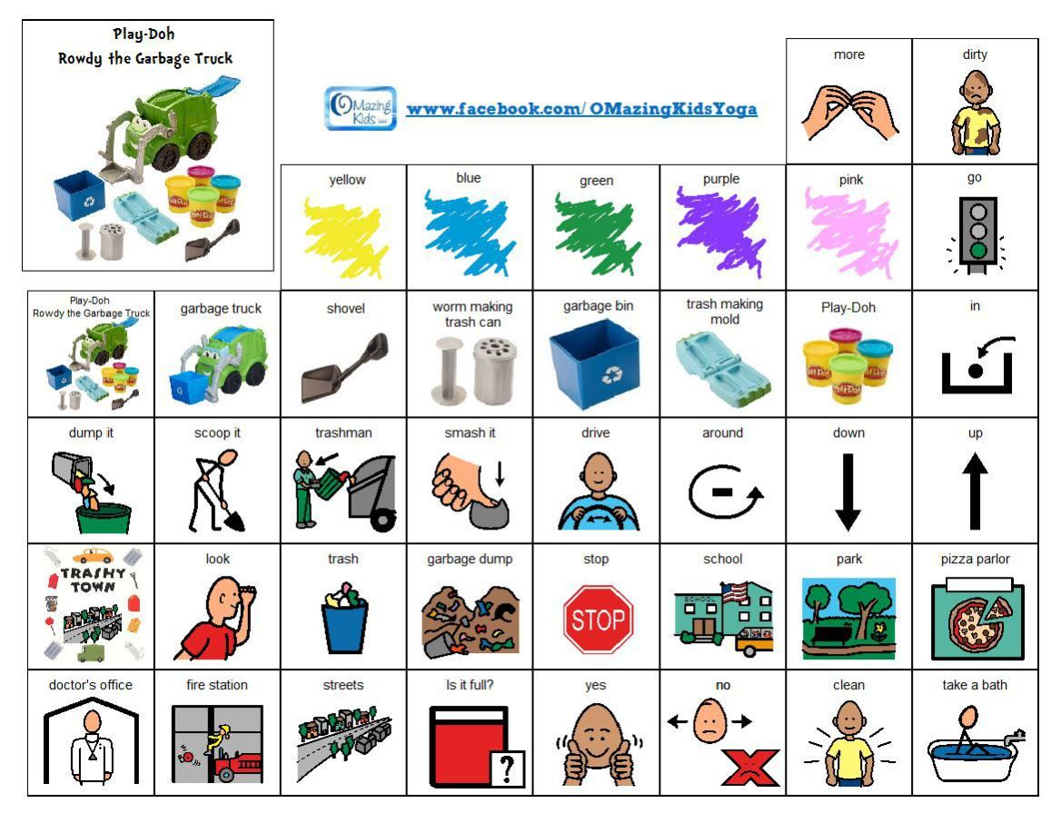 No Prep Grab Amp Go Activity For Core Vocabulary