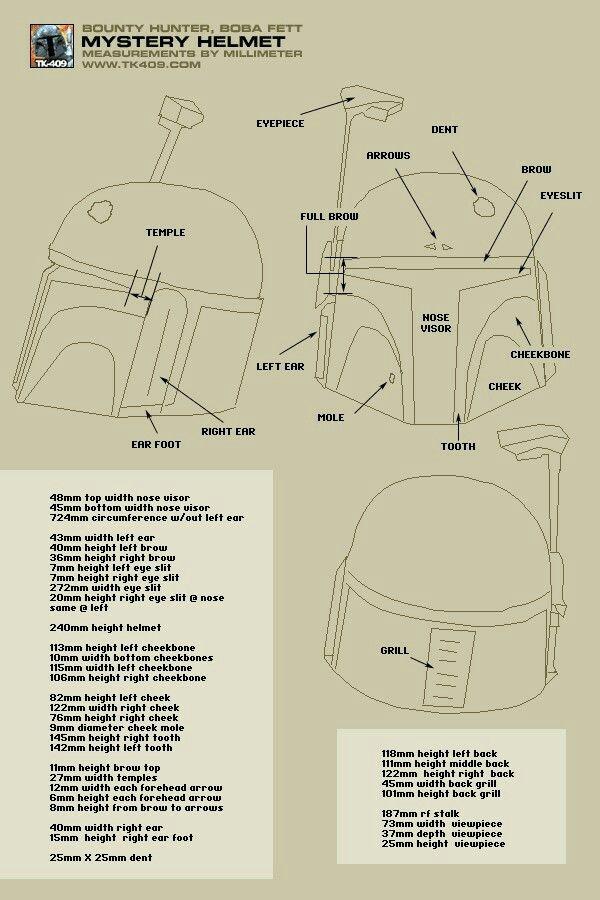 Mandalorian Helmet Pattern : mandalorian, helmet, pattern, Helmet:, Mandalorian, Helmet, Template