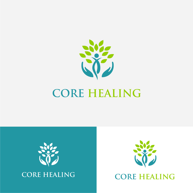 Health care logo design abstract