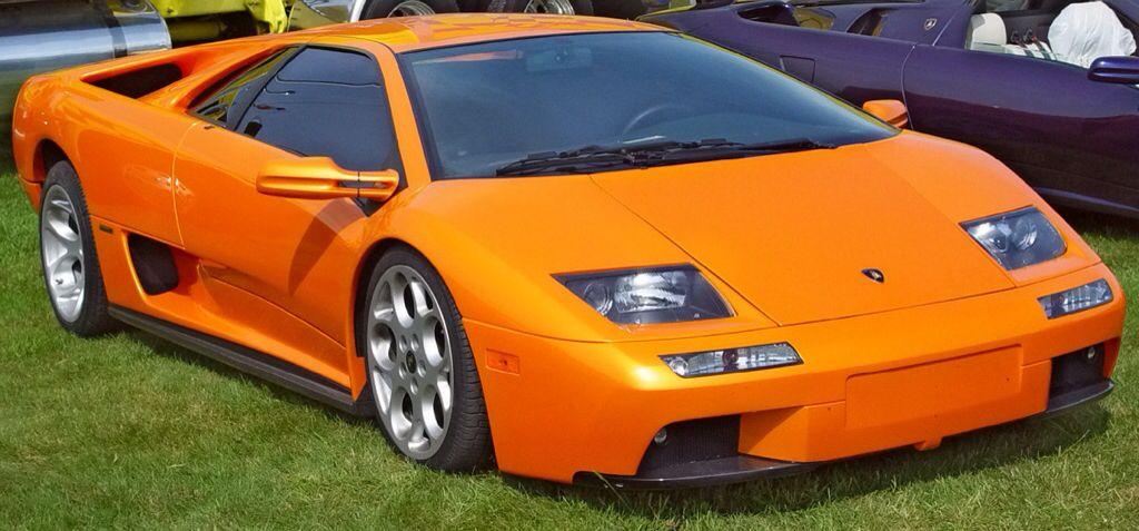 Orange Lamborghini Diablo Cars Lamborghini Diablo Lamborghini
