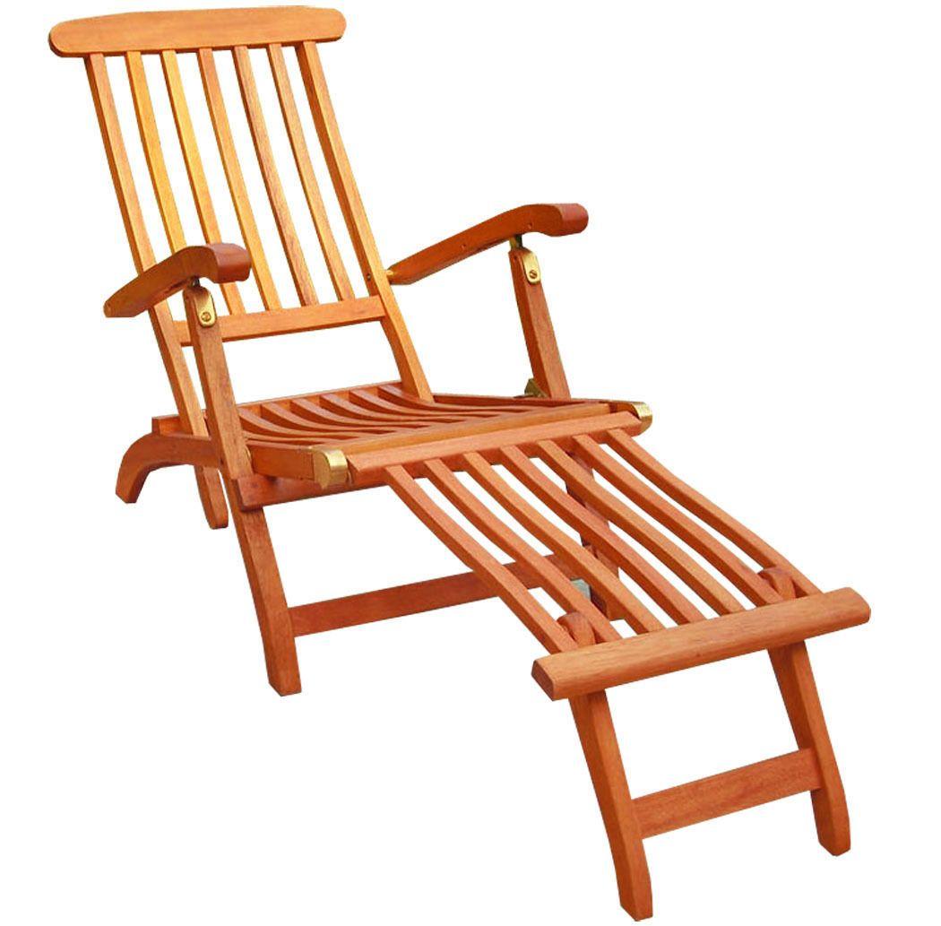 Kmh Deckchair Sonnenliege Gartenliege Relaxliege Liegestuhl Eukalyptus Holz Ebay Liegestuhl Relaxliege Mobelideen