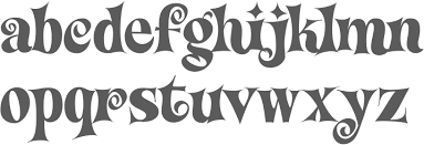 Image result for psychedelic didone font