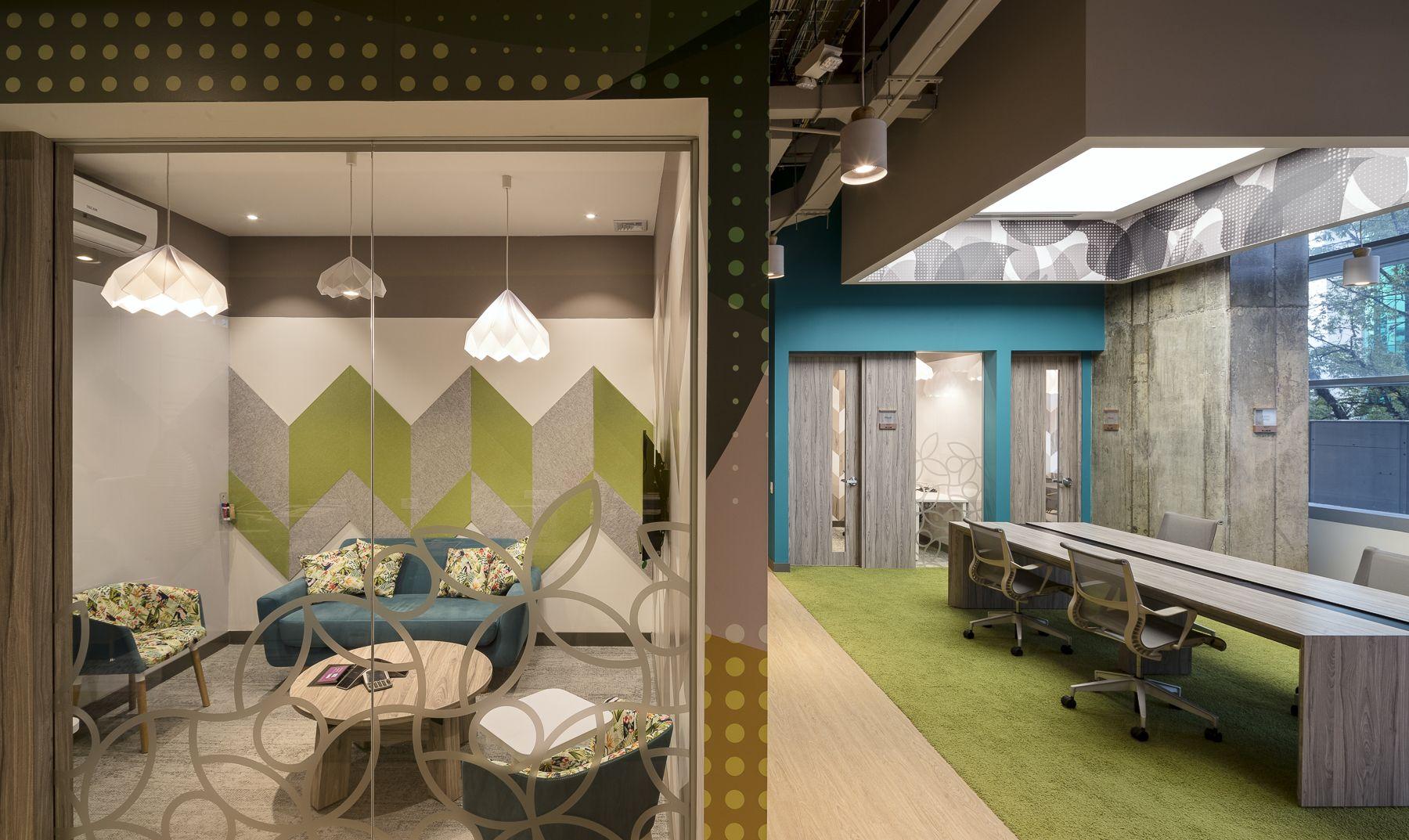 Oficinas de Microsoft Medellín Diseño: Arquitectura e interiores ...